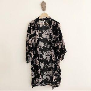 Spiritual Gangster Intimates & Sleepwear - Spiritual Gangster Maya Kimono